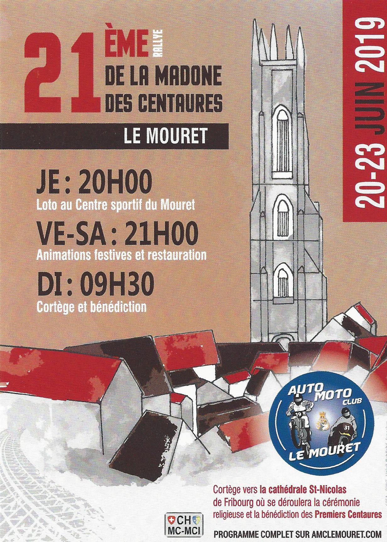 Flyer Madone des centaures